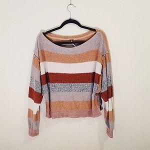Free People Terrycloth Sweatshirt